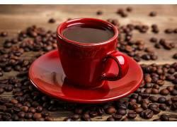 885029,食物,咖啡,杯子,咖啡,豆子,壁纸