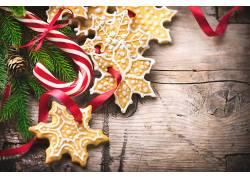 885733,食物,饼干,糖果,手杖,圣诞节,壁纸