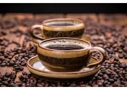 871867,食物,咖啡,杯子,咖啡,豆子,壁纸