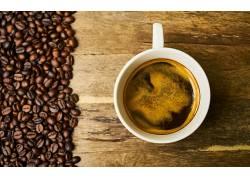 877812,食物,咖啡,杯子,咖啡,豆子,仍然,生活,壁纸