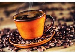 898472,食物,咖啡,杯子,咖啡,豆子,仍然,生活,壁纸