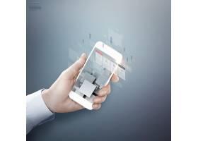 商务手机科技海报