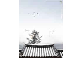 白雪建筑物风景写真