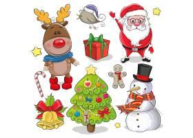卡通可爱圣诞元素