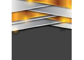 银色金色条纹金属质感黑色矢量底纹背景