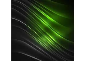 绿色波浪线背景