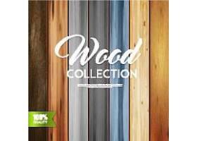 木质纹理背景图