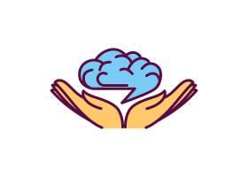 创意云朵与手logo设计