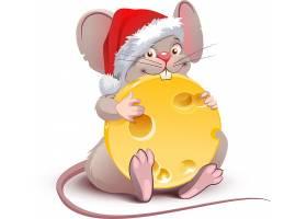 圣诞节老鼠与芝士