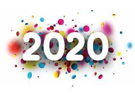 彩色糖果背景2020素材