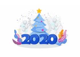 2020节日海报素材