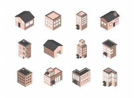 2.5D房屋建筑图