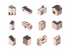 房屋矢量图