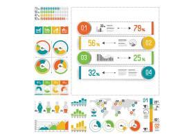 彩色创意信息图表图片