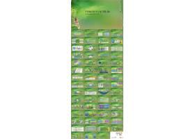 清新绿色ppt模板