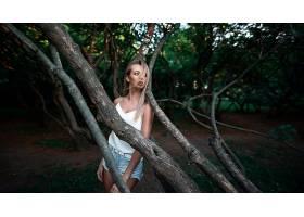 1026021,女人,模特,妇女,女孩,白皙的,短裤,深度,关于,领域,壁纸