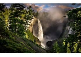 286569,地球,瀑布,瀑布,壁纸
