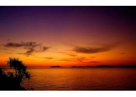 288163,地球,日落,海洋,天空,云,壁纸