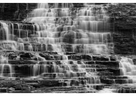 693481,地球,阿尔宾,瀑布,瀑布,瀑布,岩石,加拿大,黑色,白色,壁纸