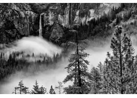693632,地球,瀑布,瀑布,约塞米蒂国家公园,国家的,公园,自然,雾,