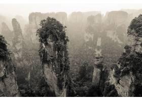 713624,地球,悬崖,岩石,中国,风景,黑色,白色,乌贼的墨,壁纸