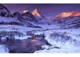 280741,地球,增加,阿西尼玻河,山脉,冬天的,雪,山,英国的,哥伦比