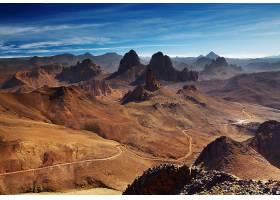 794671,地球,山,山脉,阿尔及利亚,非洲,Assekrem,塔斯丽,霍格,山