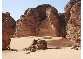 795061,地球,岩石,阿尔及利亚,沙漠,撒哈拉沙漠,石头,沙丘,塔斯丽