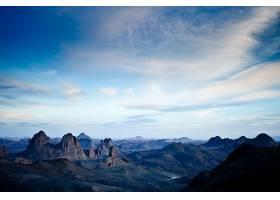 795620,地球,山,山脉,霍格,山脉,岩石,天空,阿尔及利亚,非洲,沙漠