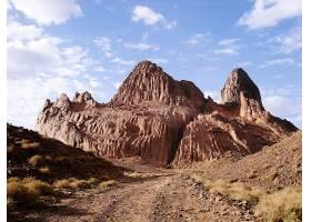 796038,地球,沙漠,霍格,山脉,塔斯丽,阿尔及利亚,风景,撒哈拉沙漠