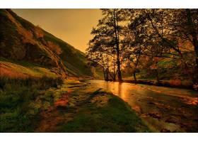 245772,地球,秋天,溪流,风景,河,阳光,壁纸