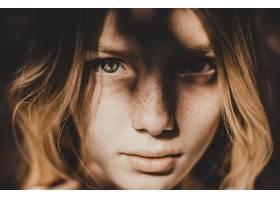 838435,女人,脸,妇女,模特,女孩,白皙的,雀斑,蓝色,眼睛,壁纸