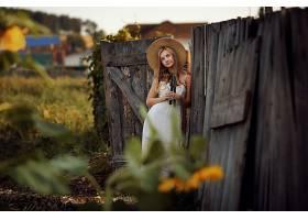 1056723,女人,模特,女孩,妇女,白皙的,帽子,深度,关于,领域,白色,