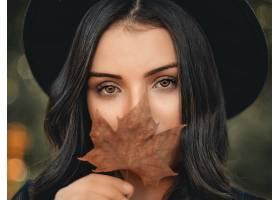 1030685,女人,模特,妇女,女孩,脸,帽子,黑色,头发,棕色,眼睛,壁纸图片