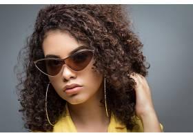 1030898,女人,模特,女孩,妇女,脸,太阳镜,黑色,头发,壁纸