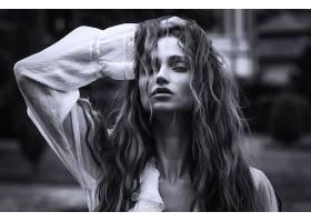 1032611,女人,模特,女孩,妇女,黑色,头发,脸,壁纸图片