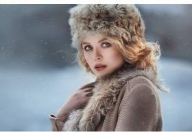 1060140,女人,模特,妇女,女孩,口红,白皙的,帽子,深度,关于,领域,