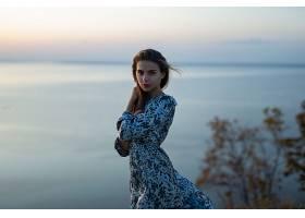 1060272,女人,模特,妇女,女孩,穿衣,口红,深度,关于,领域,壁纸