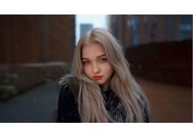 1054502,女人,模特,妇女,女孩,白皙的,长的,头发,口红,蓝色,眼睛,图片