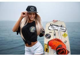 1022194,女人,模特,微笑,女孩,妇女,白皙的,帽子,壁纸