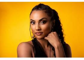 1023653,女人,模特,妇女,女孩,黑色,头发,棕色,眼睛,壁纸图片