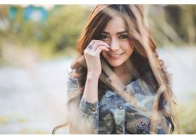 599491,女人,Kookai,模特,泰国,女孩,模特,亚洲的,微笑,Bokeh,卡