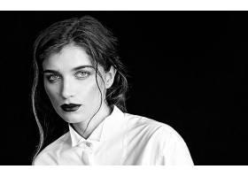 997705,女人,模特,妇女,女孩,脸,口红,黑色,白色,壁纸