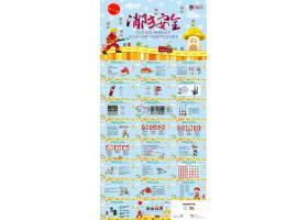 幼儿园消防安全问题安全教育ppt模板