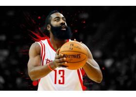 运动,詹姆斯,变硬,篮球,美国篮球职业联盟,休斯顿,火箭,壁纸(3)