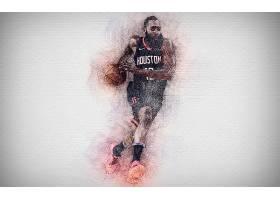 运动,詹姆斯,变硬,篮球,美国篮球职业联盟,休斯顿,火箭,壁纸(4)