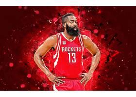 运动,詹姆斯,变硬,篮球,美国篮球职业联盟,休斯顿,火箭,壁纸(5)