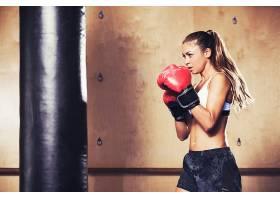 运动,拳击,妇女,女孩,马尾辫,黑发女人,壁纸