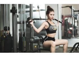 运动,健康,女孩,妇女,亚洲的,黑发女人,壁纸