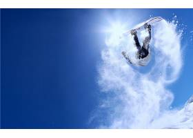 运动,单板滑雪,雪,冬天的,壁纸(2)